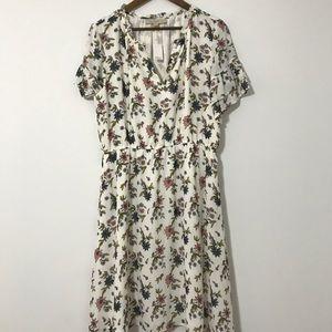 The Loft floral dress